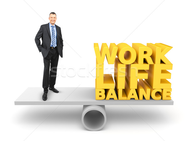 work life balance Stock photo © magann