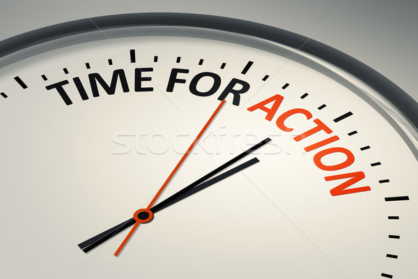 time for action Stock photo © magann