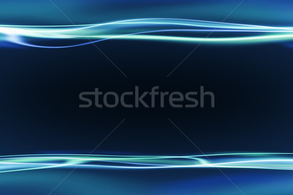 blue background with light streaks Stock photo © magann