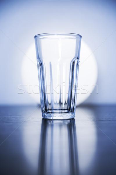 типичный пусто стекла изображение кухне таблице Сток-фото © magann