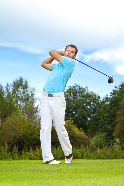 golf player Stock photo © magann