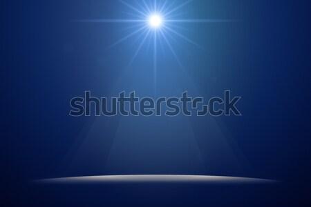 Stock fotó: Színpad · fények · kép · szép · absztrakt · éjszaka