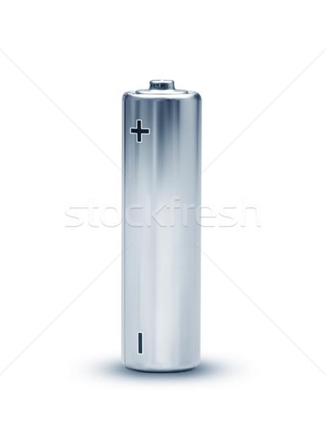 Bateria imagem bom isolado indústria Foto stock © magann
