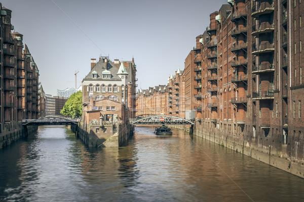 Wasserschloss Hamburg Stock photo © magann