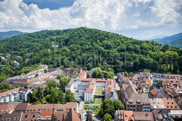 Kirchberg at Freiburg Stock photo © magann