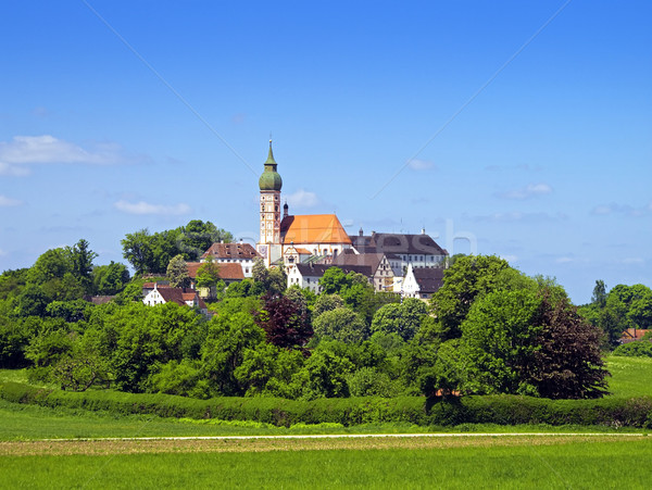 Andechs Monastery Stock photo © magann
