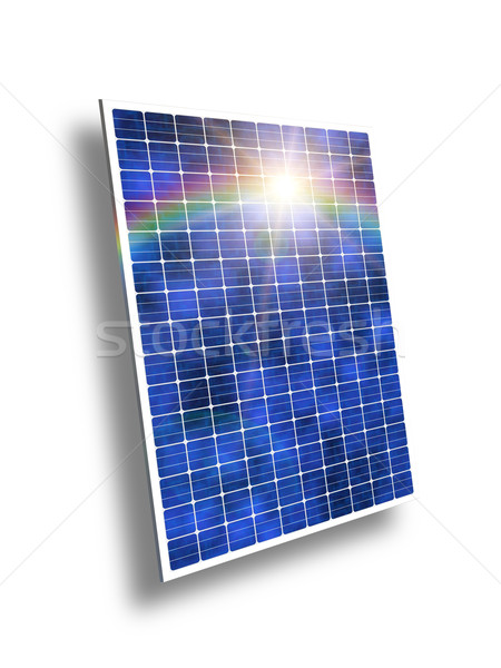 solar panels Stock photo © magann