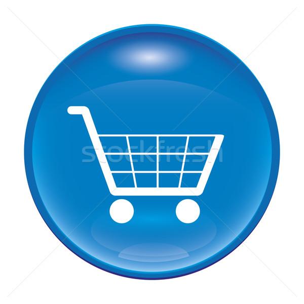 shopping icon Stock photo © magann