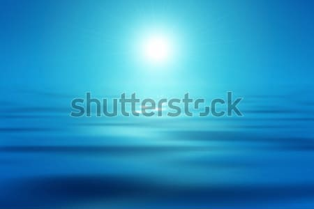 blue sea and sun Stock photo © magann