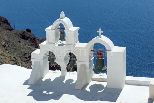 サントリーニ 教会 画像 いい ギリシャ 建物 ストックフォト © magann