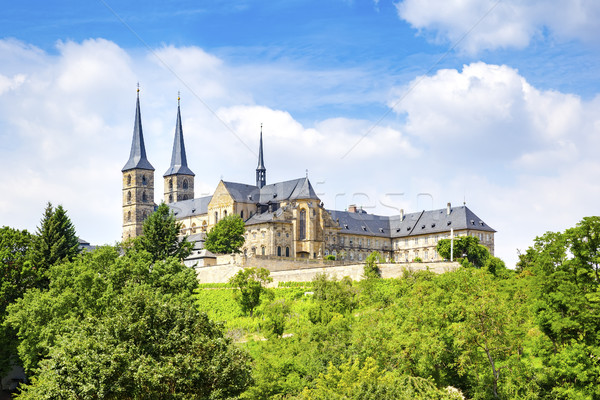 Monastery St. Michael in Bamberg Stock photo © magann