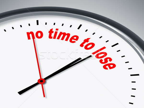 no time to lose Stock photo © magann