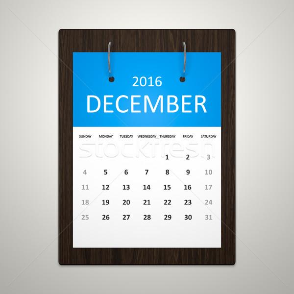 Kalendarza planowania obraz elegancki przypadku 2016 Zdjęcia stock © magann