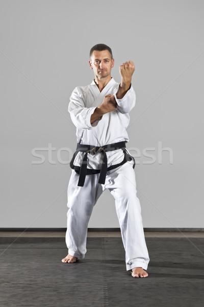 Foto stock: Artes · marciales · maestro · imagen · hombre · deporte · salud