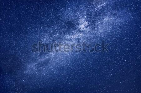 Leitoso maneira estrelas fundo imagem abstrato Foto stock © magann