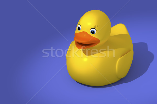 sweet rubber ducky Stock photo © magann