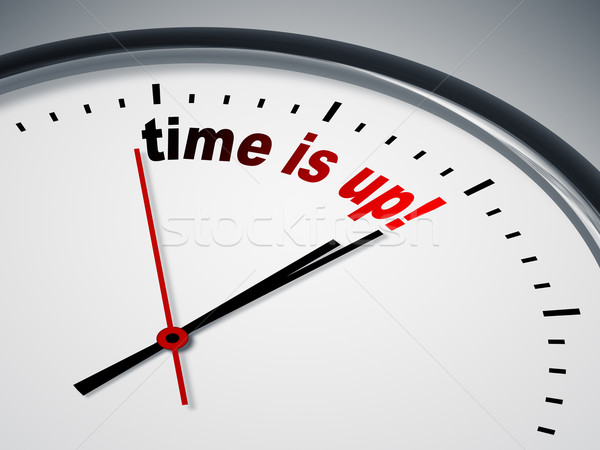 time is up Stock photo © magann