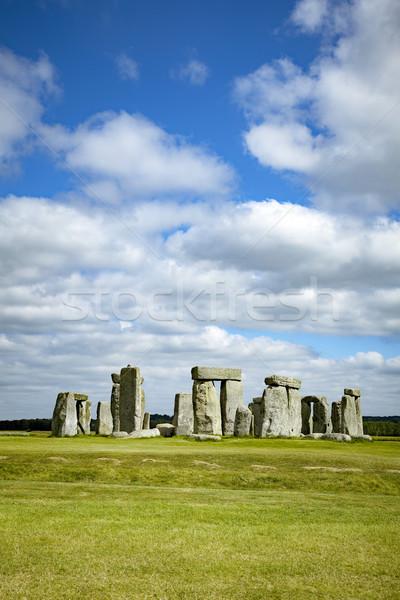Stonehenge image Angleterre horloge paysage monde Photo stock © magann