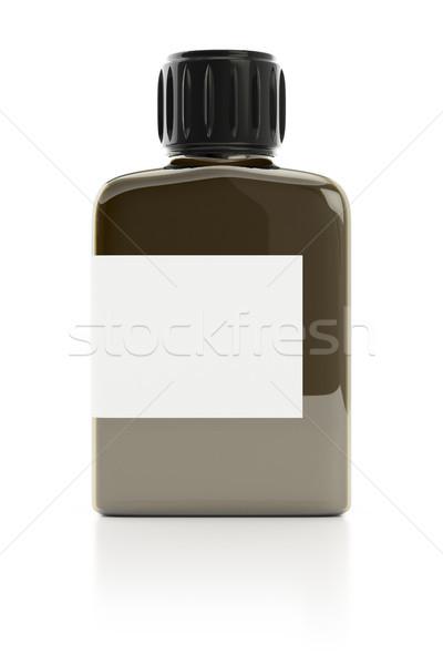 Typique faible verre 3d illustration médicaux espace Photo stock © magann