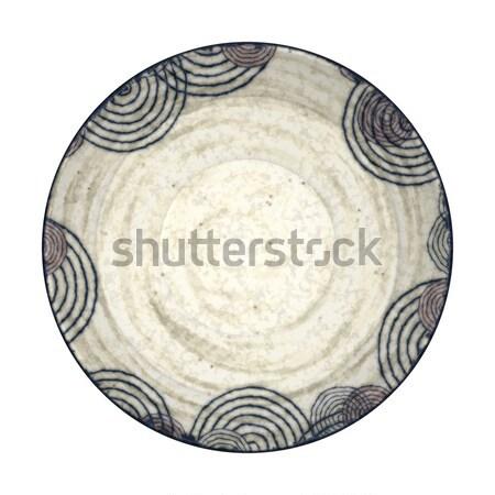pottery plate Stock photo © magann