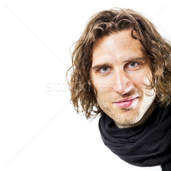 curly hairdo Stock photo © magann