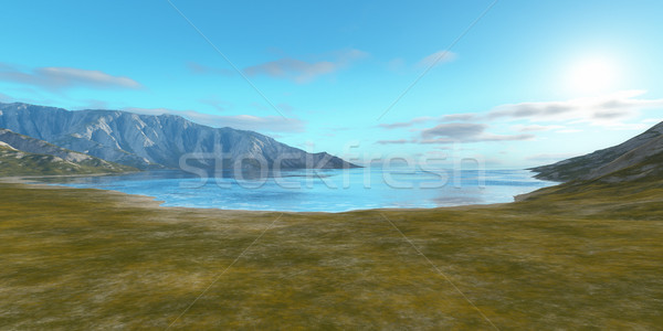 landscape without vegetation Stock photo © magann