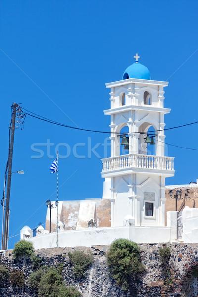 サントリーニ 教会 画像 いい 表示 建物 ストックフォト © magann