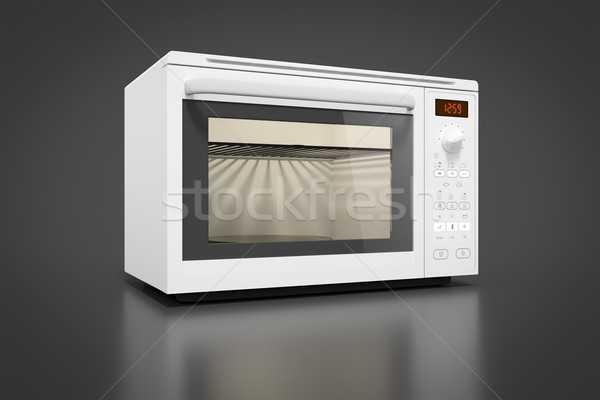 typical modern microwave Stock photo © magann