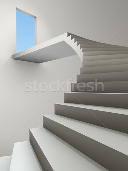 stairway Stock photo © magann