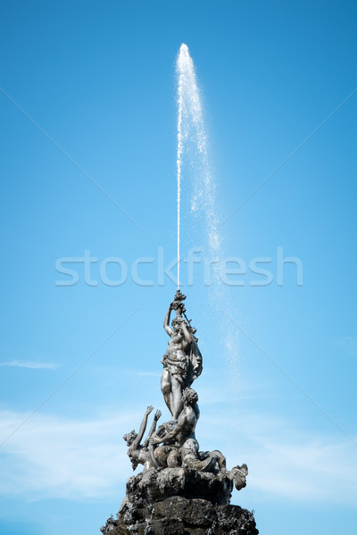 fountain at Herrenchiemsee Stock photo © magann