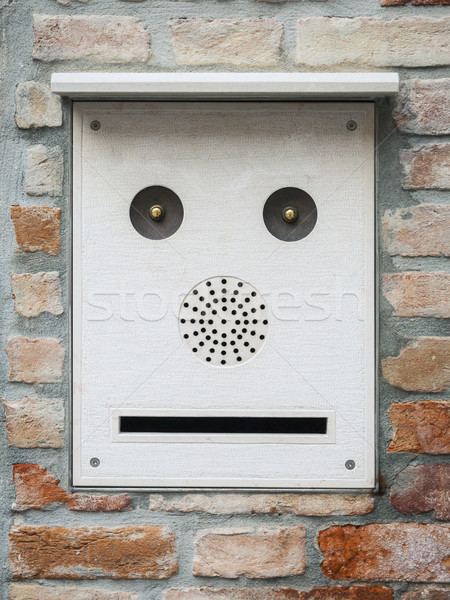 a mailbox like a face Stock photo © magann