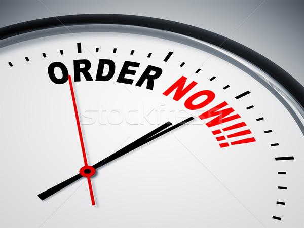 order now Stock photo © magann