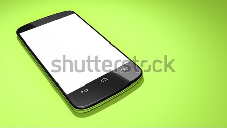 typical smartphone with space for your content Stock photo © magann