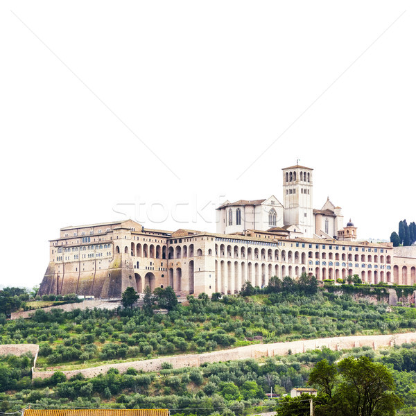 Stock photo: Assisi in Italy Umbira background