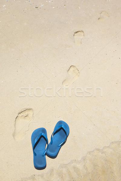 Blu immagine spiaggia moda natura Foto d'archivio © magann