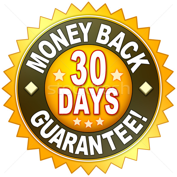 money back guarantee Stock photo © magann