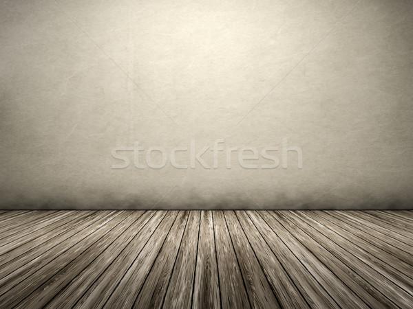 üres szoba saját tartalom ház textúra fal Stock fotó © magann