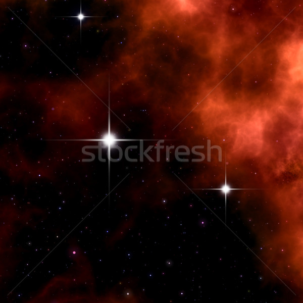 red nebula Stock photo © magann