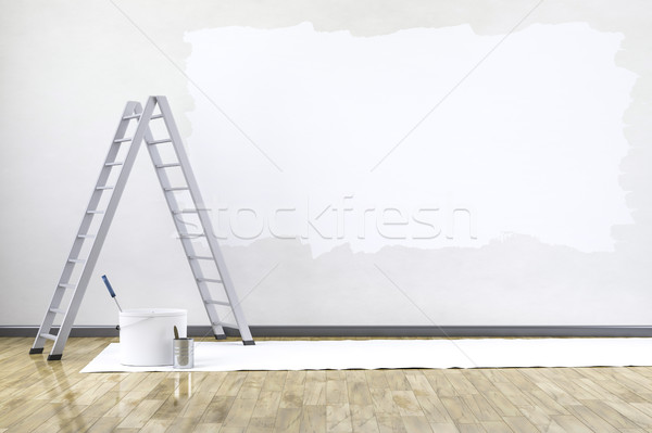 room with a ladder Stock photo © magann