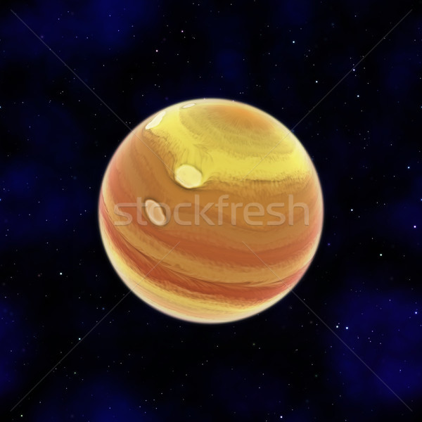 gas giant in space Stock photo © magann