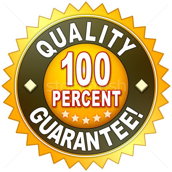 качество гарантировать символ деньги дизайна знак Сток-фото © magann