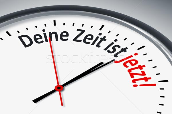 Сток-фото: часы · текста · изображение · типичный · время · сейчас