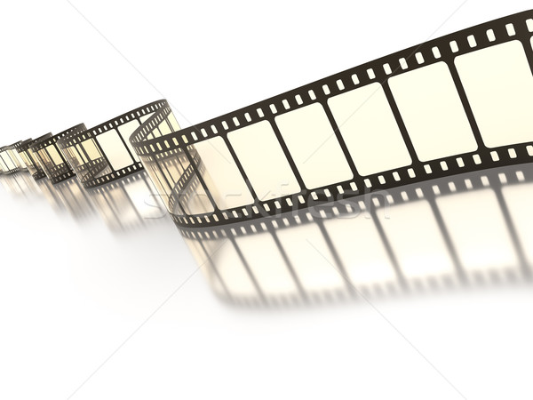 Vintage taśmy filmowej obraz film projektu film Zdjęcia stock © magann