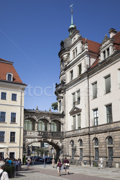 an archway between two buildings in Dresden Germany Stock photo © magann
