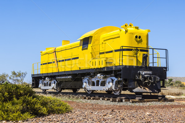 yellow train Stock photo © magann