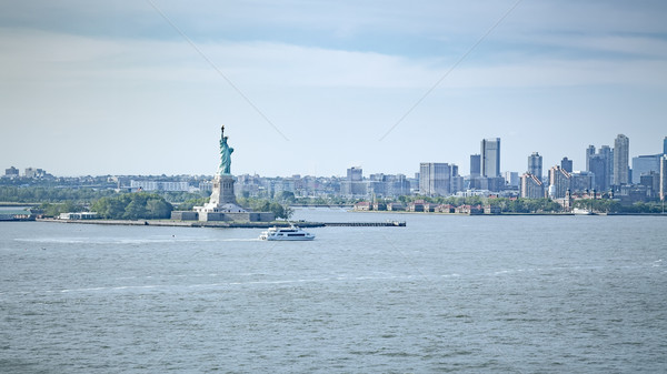 Szobor hörcsög New York kép város zöld Stock fotó © magann