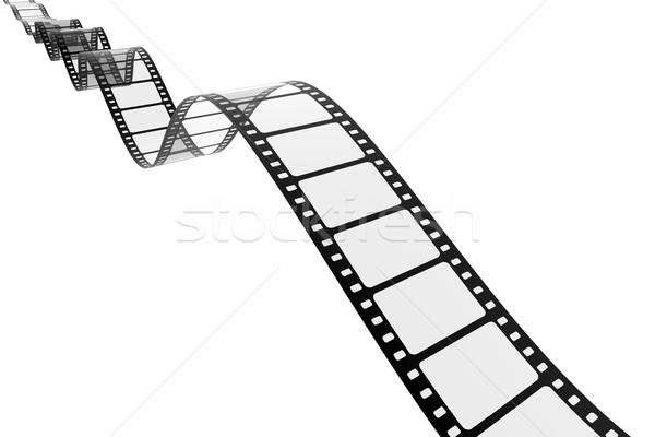 Vintage filmstrip afbeelding abstract film ontwerp Stockfoto © magann