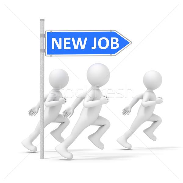 run for a new job Stock photo © magann