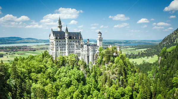 Castle Neuschwanstein Bavaria Germany Stock photo © magann