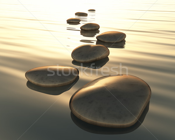 step stones Stock photo © magann